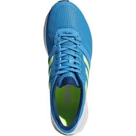 adidas Adizero Adios 4 Sko Herrer, shock cyan/hi-res yellow/legend marine